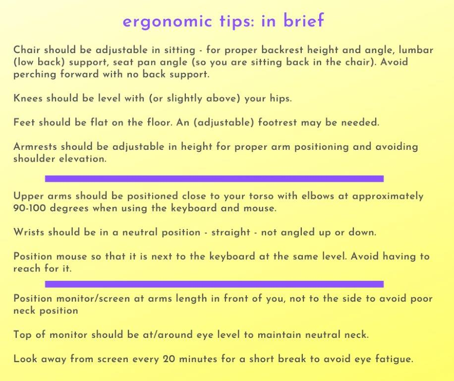 10-Ergonomics - in brief