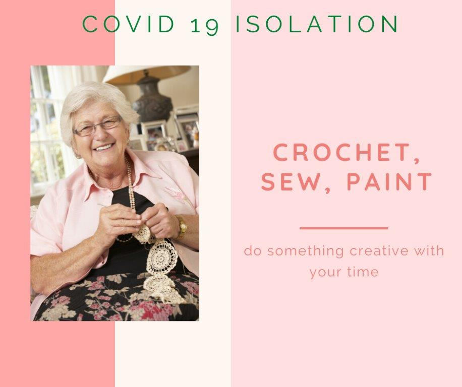 7- covid 19 isolation - crochet